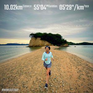 "【10km-レグラン(アルファフライ ネクスト% EK NRC チャレンジ10km)(5'30"")】エンジェルロード"