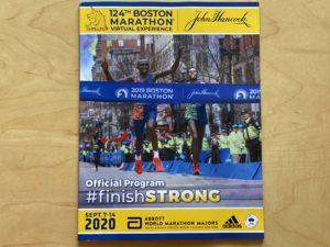 第124回ボストンマラソン公式プログラム