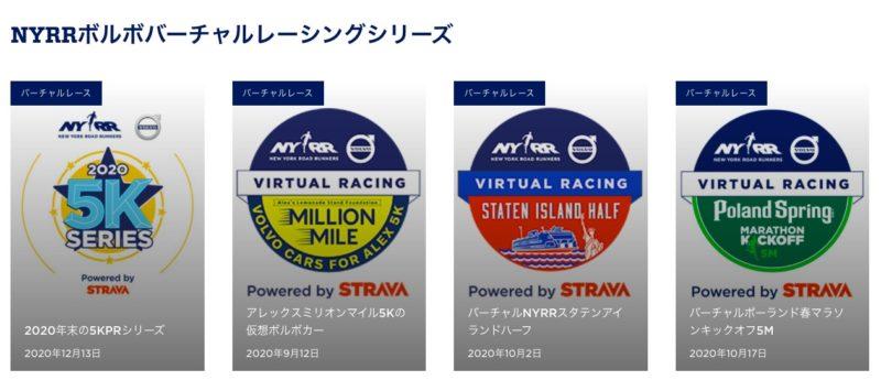 NYRRボルボバーチャルレーシング1