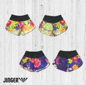 【JINGER】ウィメンズ Blossom・ランニングパンツ