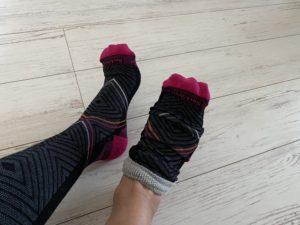 ソックウェル着圧ランニング靴下の履き方5
