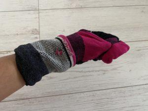 ソックウェル着圧ランニング靴下の履き方2