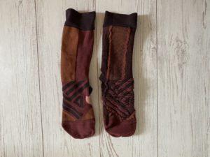 OnのHigh Sockの裏側の縫い目1