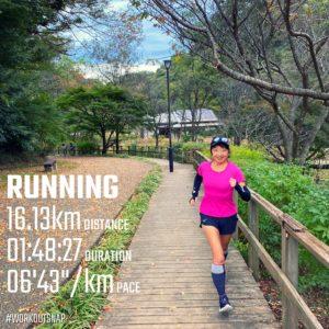 """【ロングラン:6'47""""/kmで15km】鎌倉中央公園"""