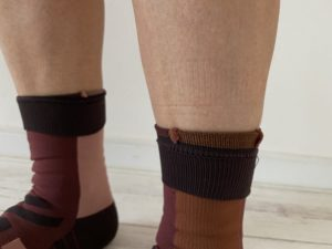OnのHigh Sockの着圧