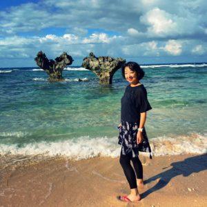 古宇利島ティーヌ浜のハートロック
