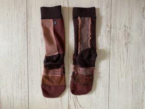 OnのHigh Sockの裏側の縫い目2