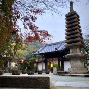 覚園寺の篝火