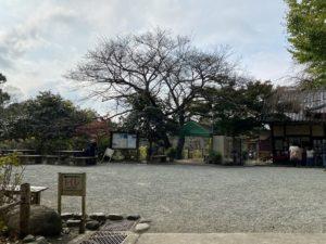 源氏山公園のトイレ表示