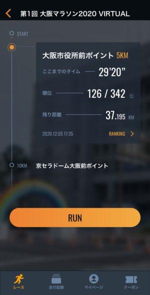 大阪マラソン2020レース