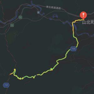"""【6'07""""/kmで24.07km】マップ"""