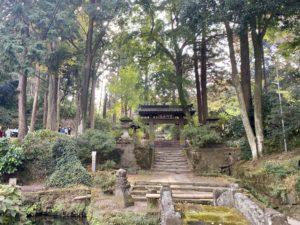 浄智寺の階段