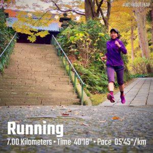 """【5'39""""/kmで6.4km】妙本寺"""