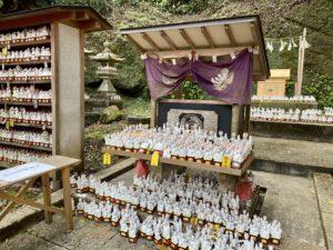 佐助稲荷神社本殿の神狐