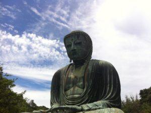 国宝銅造阿弥陀如来坐像