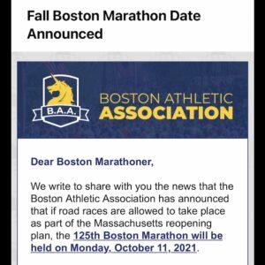 第125回ボストンマラソン