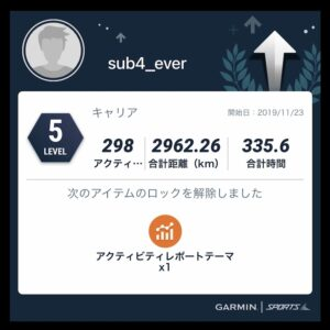 Garmin Sportsレベル5