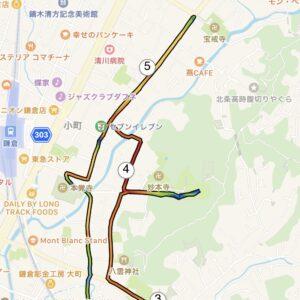 "7.04km(6'18"") イージーラン【2021/2/24】MAP"