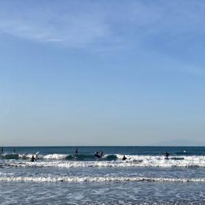 材木座海岸はサーフ天国🏄🏻♂️