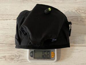 ランゼストのランニング2wayバッグの重量