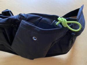 ランゼストのランニング2wayバッグのペットボトルホルダー
