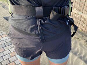 ランゼストのランニング2wayバッグの余ったベルト