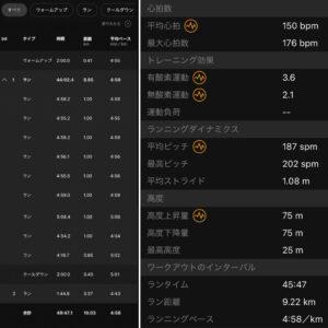 """10.03km(4'58"""") ROAD TO TOKYO MARATHON 2021【2021/3/6】"""