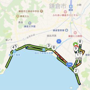 "7.08km(5'55"") イージーラン【2021/3/30】MAP"