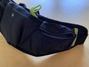 ランゼストのランニング2wayバッグにのサブポケットに鍵を収納