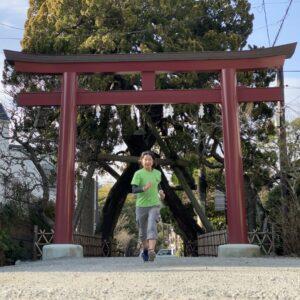 荏柄天神社の鳥居