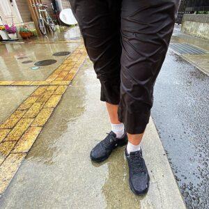 雨の日のOnのCloudflyer Waterproof