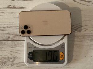 iPhone 11 Proの重量
