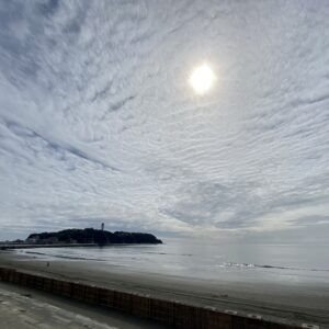 江の島の雲