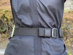ランゼストのランニング2wayバッグの理想的バランス