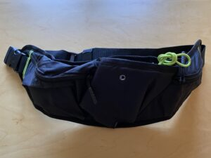 ランゼストのランニング2wayバッグは大容量