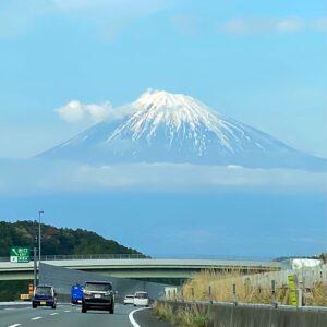 帰り道でも富士山