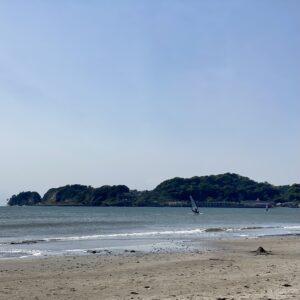 材木座海岸のウインド