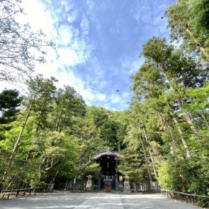 鶴岡八幡宮の白旗神社1