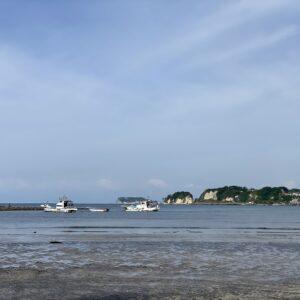和賀江島から