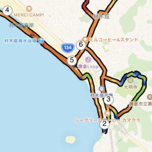 "5.48km(6'30"") イージーラン【2021/5/26】MAP"