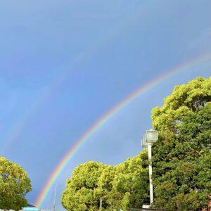 横須賀の虹1