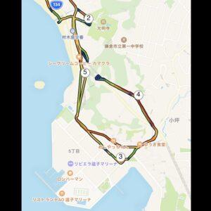 "5.50km(5'54"") イージーラン【2021/5/4】MAP"