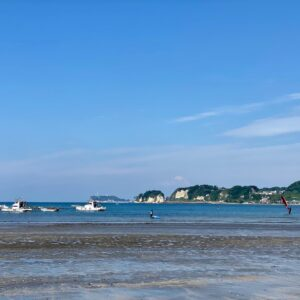 和賀江島近く