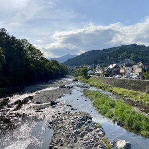 秋川渓谷の橋