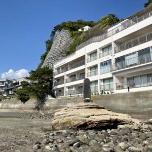 和賀江島の石碑