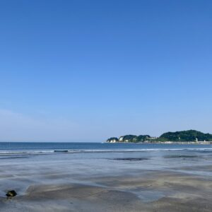 材木座海岸
