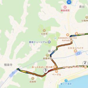 """6月2日(水)【5.79km(5'41"""")】MAP"""