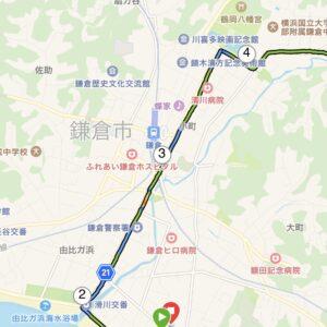 """6月29日(火)【12.6km(5'42"""")】MAP2"""