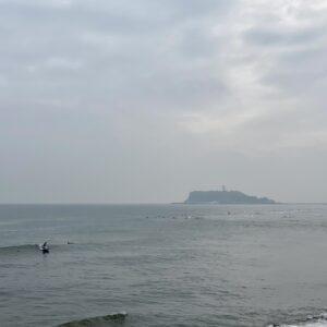 稲村ヶ崎公園から見る江の島