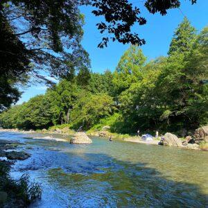 黒茶屋敷地内の河原を散策2